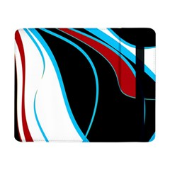 Blue, Red, Black And White Design Samsung Galaxy Tab Pro 8.4  Flip Case