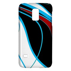 Blue, Red, Black And White Design Galaxy S5 Mini