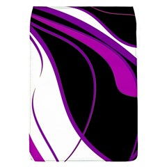 Purple Elegant Lines Flap Covers (L)