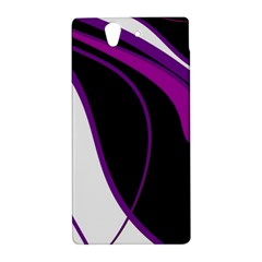 Purple Elegant Lines Sony Xperia Z