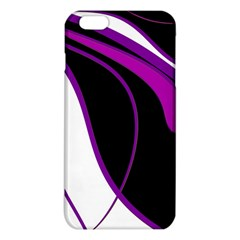 Purple Elegant Lines iPhone 6 Plus/6S Plus TPU Case