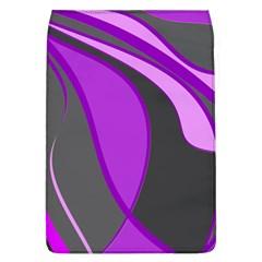 Purple Elegant Lines Flap Covers (L)