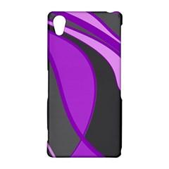 Purple Elegant Lines Sony Xperia Z2