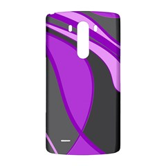 Purple Elegant Lines LG G3 Back Case