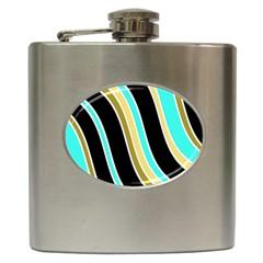 Elegant Lines Hip Flask (6 oz)
