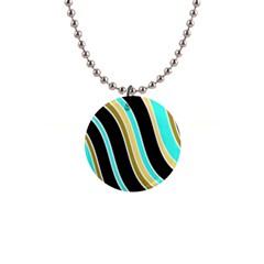 Elegant Lines Button Necklaces