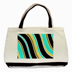 Elegant Lines Basic Tote Bag