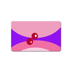 Decorative Abstraction Magnet (Name Card)
