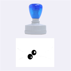 Decorative Abstraction Rubber Oval Stamps
