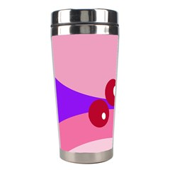 Decorative Abstraction Stainless Steel Travel Tumblers