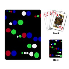Colorful Dots Playing Card