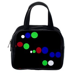 Colorful Dots Classic Handbags (One Side)