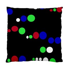 Colorful Dots Standard Cushion Case (Two Sides)
