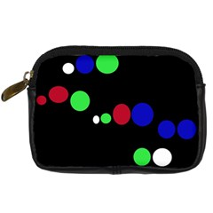 Colorful Dots Digital Camera Cases