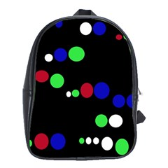 Colorful Dots School Bags(Large)