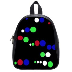 Colorful Dots School Bags (Small)