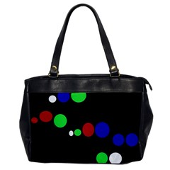 Colorful Dots Office Handbags