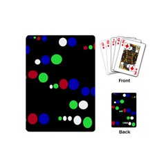 Colorful Dots Playing Cards (Mini)