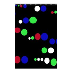 Colorful Dots Shower Curtain 48  x 72  (Small)