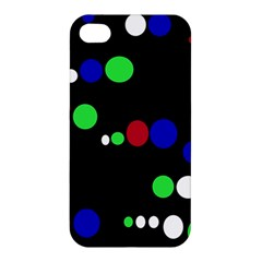 Colorful Dots Apple iPhone 4/4S Hardshell Case