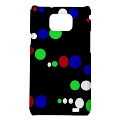 Colorful Dots Samsung Galaxy S2 i9100 Hardshell Case