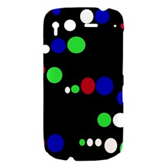 Colorful Dots HTC Desire S Hardshell Case