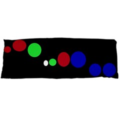Colorful Dots Body Pillow Case Dakimakura (Two Sides)