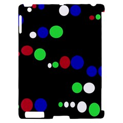 Colorful Dots Apple iPad 2 Hardshell Case (Compatible with Smart Cover)