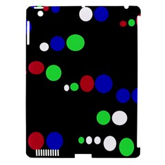 Colorful Dots Apple iPad 3/4 Hardshell Case (Compatible with Smart Cover)