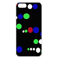 Colorful Dots Apple iPhone 5 Seamless Case (White)