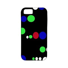 Colorful Dots Apple iPhone 5 Classic Hardshell Case (PC+Silicone)