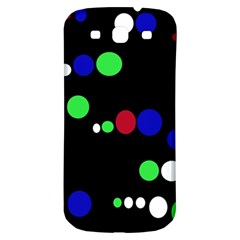 Colorful Dots Samsung Galaxy S3 S III Classic Hardshell Back Case