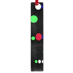 Colorful Dots Large Book Marks