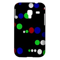 Colorful Dots Samsung Galaxy Ace Plus S7500 Hardshell Case