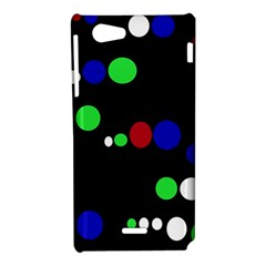 Colorful Dots Sony Xperia J
