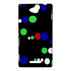 Colorful Dots Sony Xperia C (S39H)