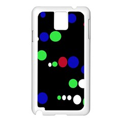 Colorful Dots Samsung Galaxy Note 3 N9005 Case (White)