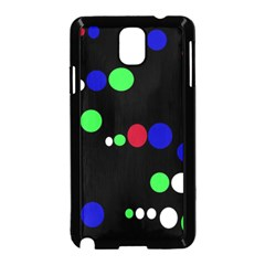 Colorful Dots Samsung Galaxy Note 3 Neo Hardshell Case (Black)