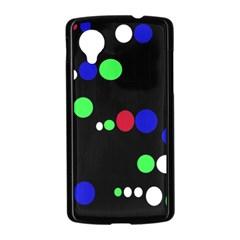 Colorful Dots Nexus 5 Case (Black)