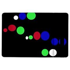 Colorful Dots iPad Air 2 Flip
