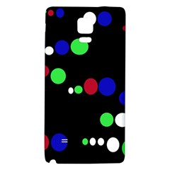 Colorful Dots Galaxy Note 4 Back Case