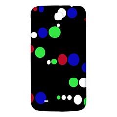 Colorful Dots Samsung Galaxy Mega I9200 Hardshell Back Case