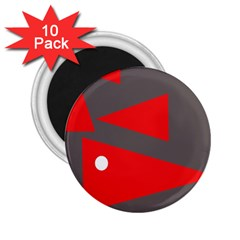 Decorative Abstraction 2.25  Magnets (10 pack)