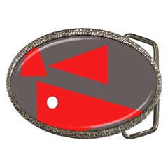 Decorative Abstraction Belt Buckles