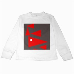 Decorative Abstraction Kids Long Sleeve T-Shirts