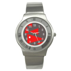 Decorative Abstraction Stainless Steel Watch