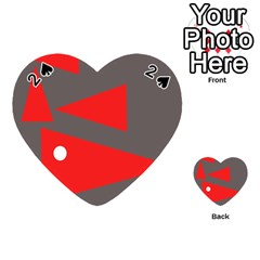 Decorative Abstraction Playing Cards 54 (Heart)