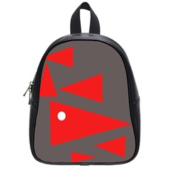 Decorative Abstraction School Bags (Small)
