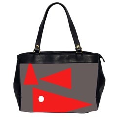 Decorative Abstraction Office Handbags (2 Sides)