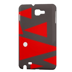 Decorative Abstraction Samsung Galaxy Note 1 Hardshell Case